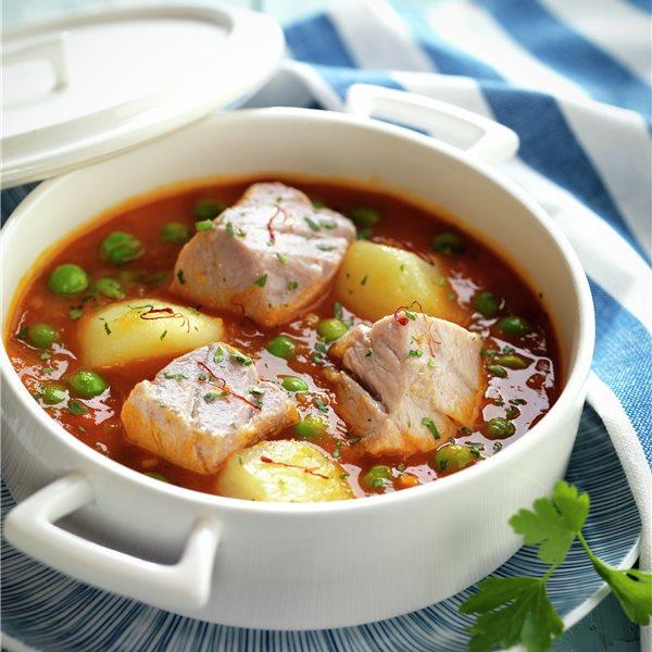 Cazuela de atún y patatas