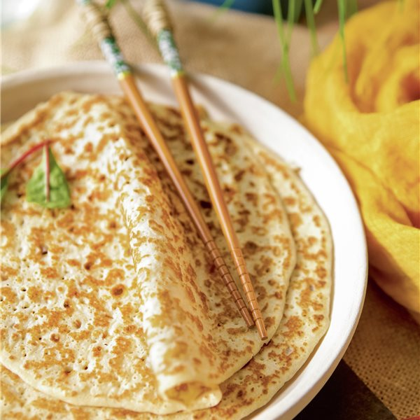 Doshas de arroz y lenteja roja