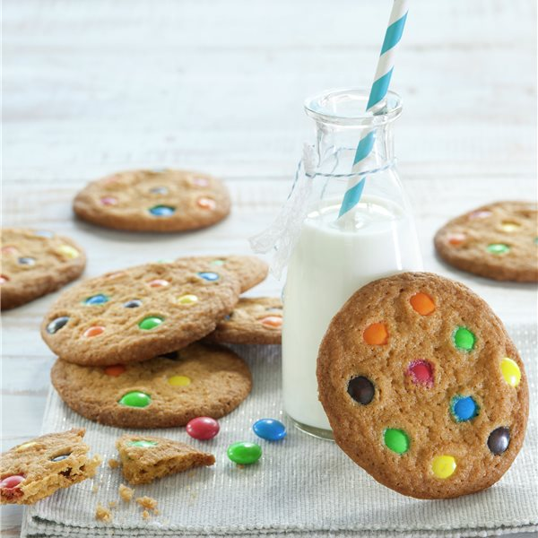 Galletas multicolor