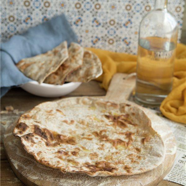 Pan chapati indio