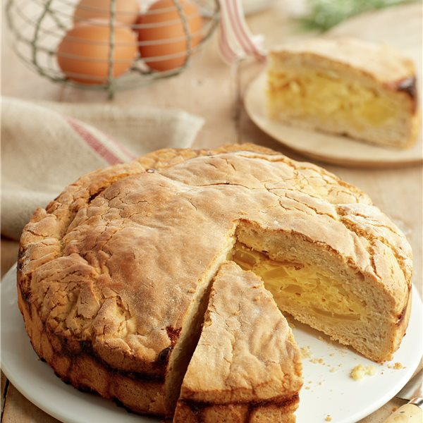 Pan relleno de tortilla de patatas