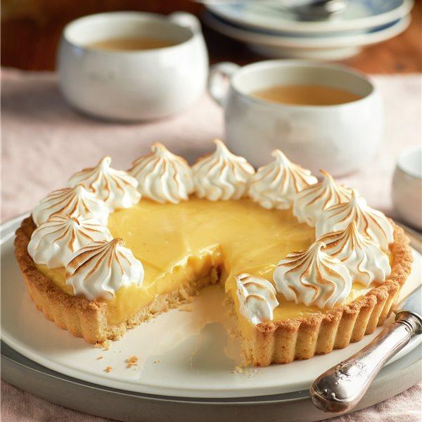 "Tarta ""lemon pie"" con merengue"