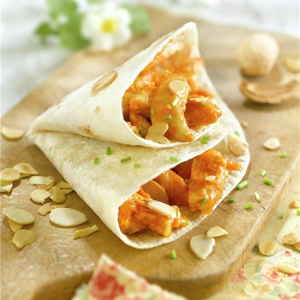 Tortitas rellenas de pavo