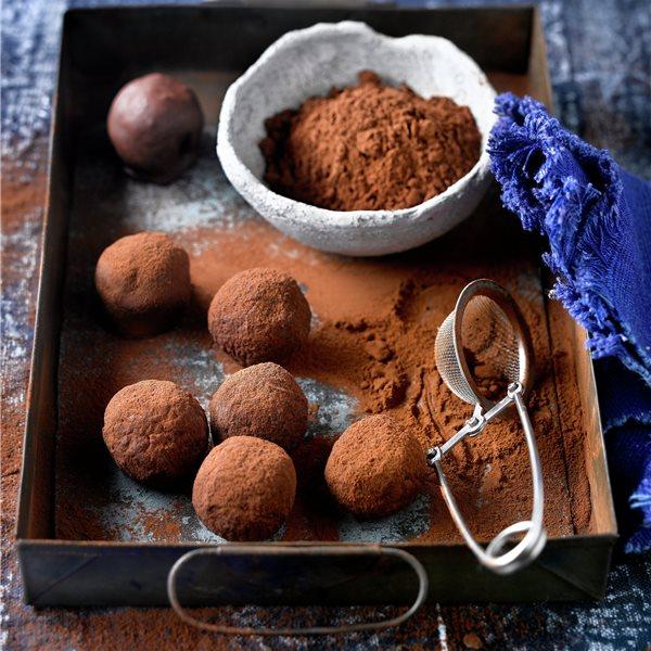 Trufi bolas de chocolate
