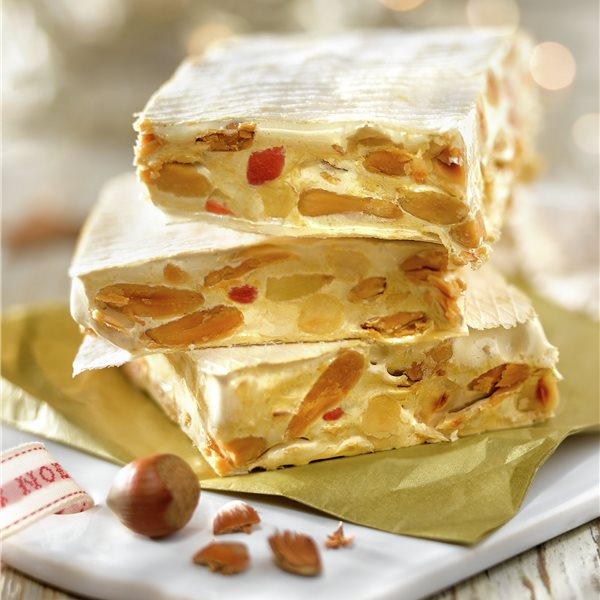 Turrón de frutos secos