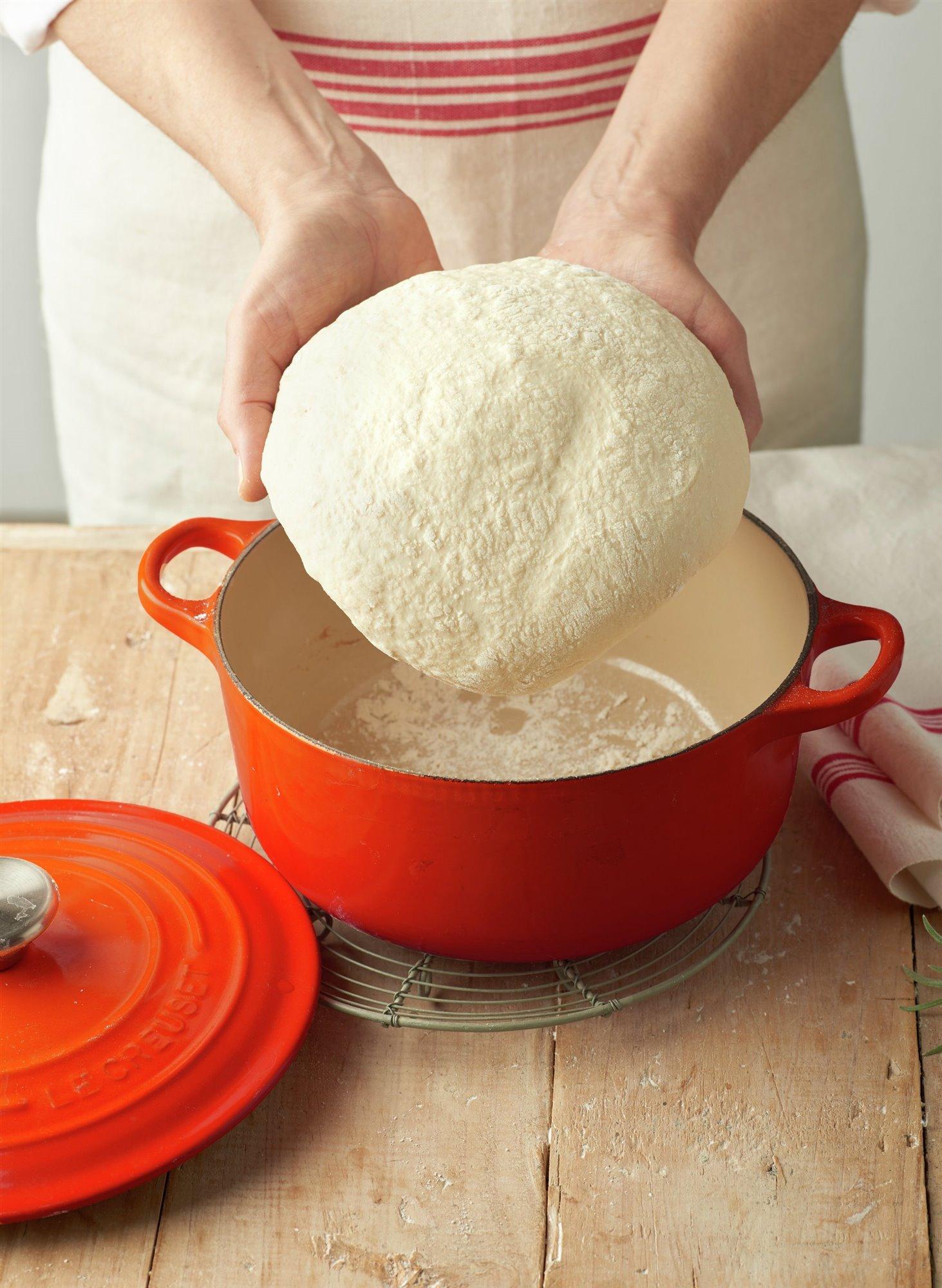 6. Coloca en el horno