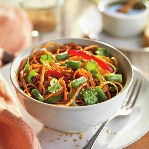 Ensalada oriental de verduras