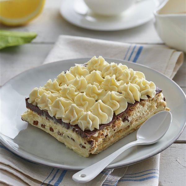 Tarta de galletas con crema de mascarpone