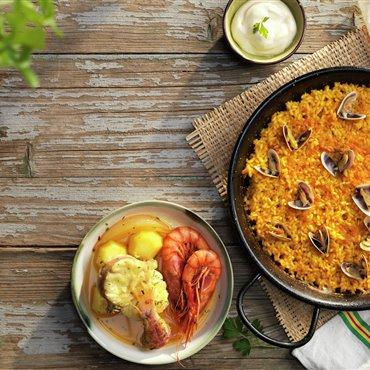 Recetas de arroz a banda