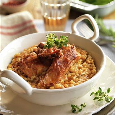 Recetas de arroz con conejo