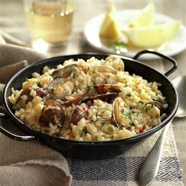 Recetas de arroz con almejas