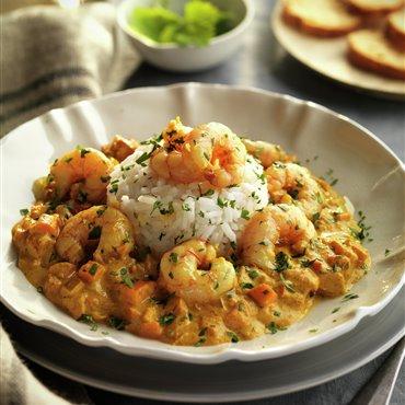 Recetas de arroz con gambas