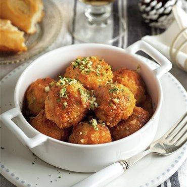 Recetas de albóndigas con tomate