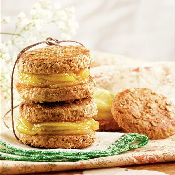 Galletas de avena con manzana