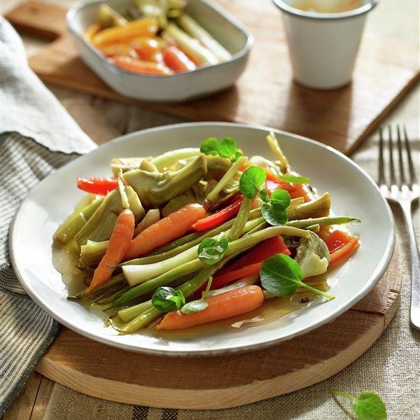 Verduras en escabeche