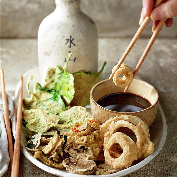 Raw tempura