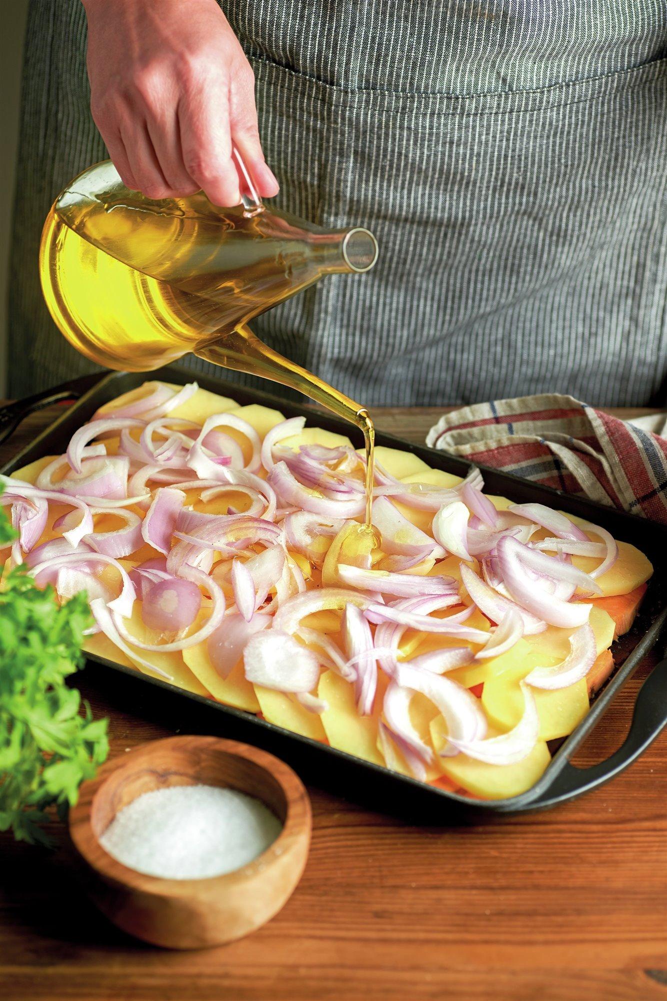 5. Adereza las hortalizas