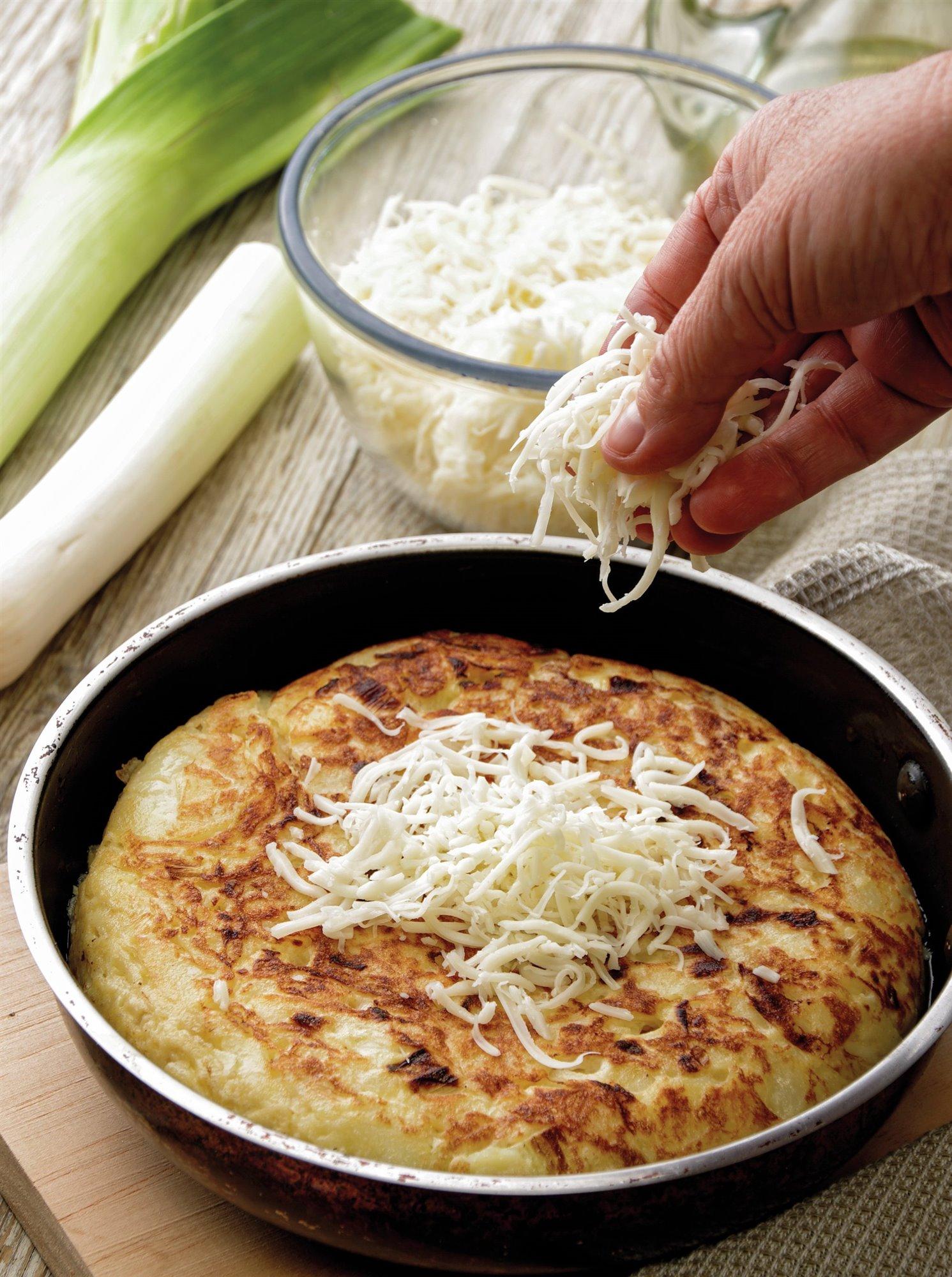 5. Reparte el queso