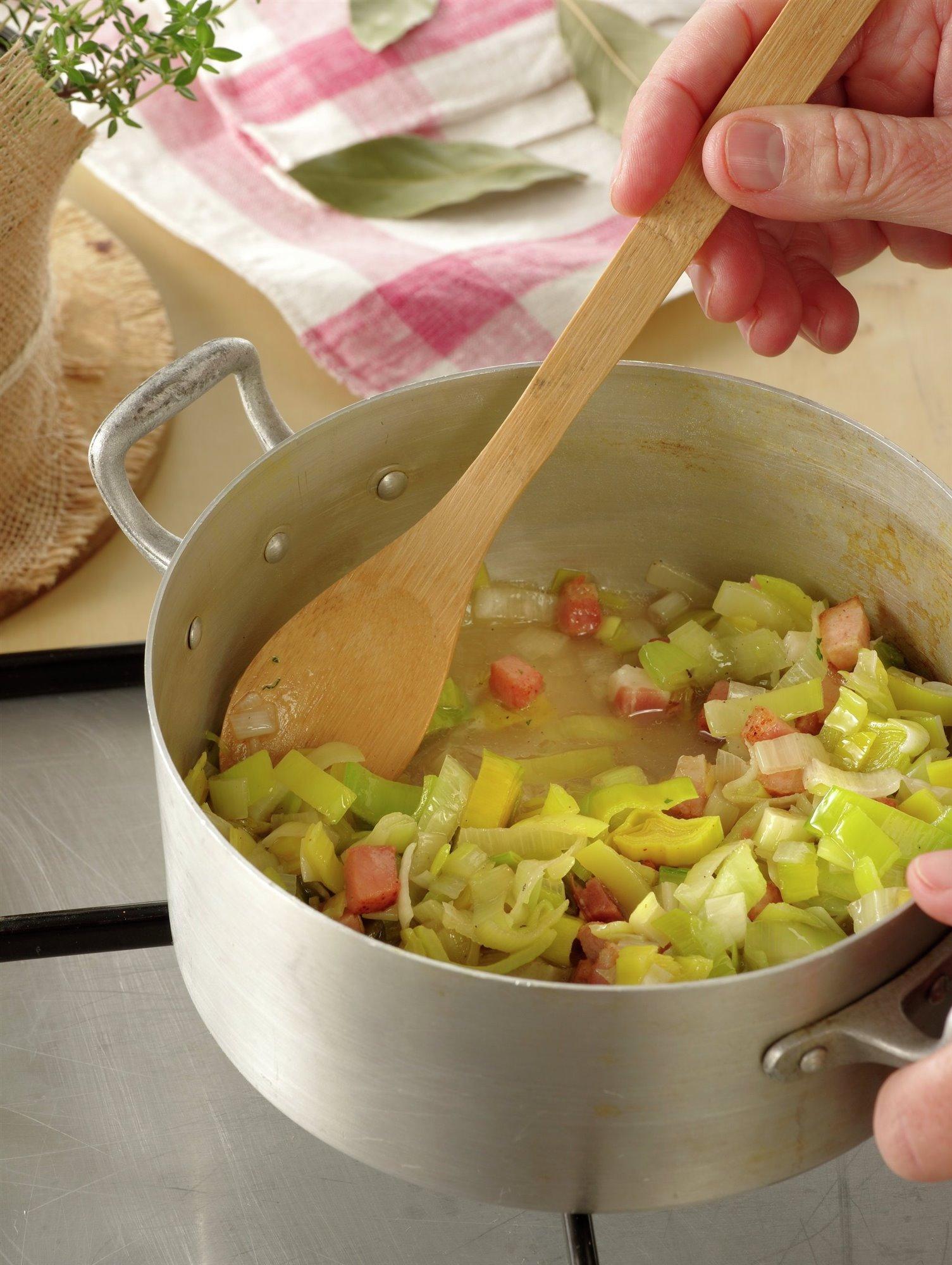 3. Rehoga las verduras