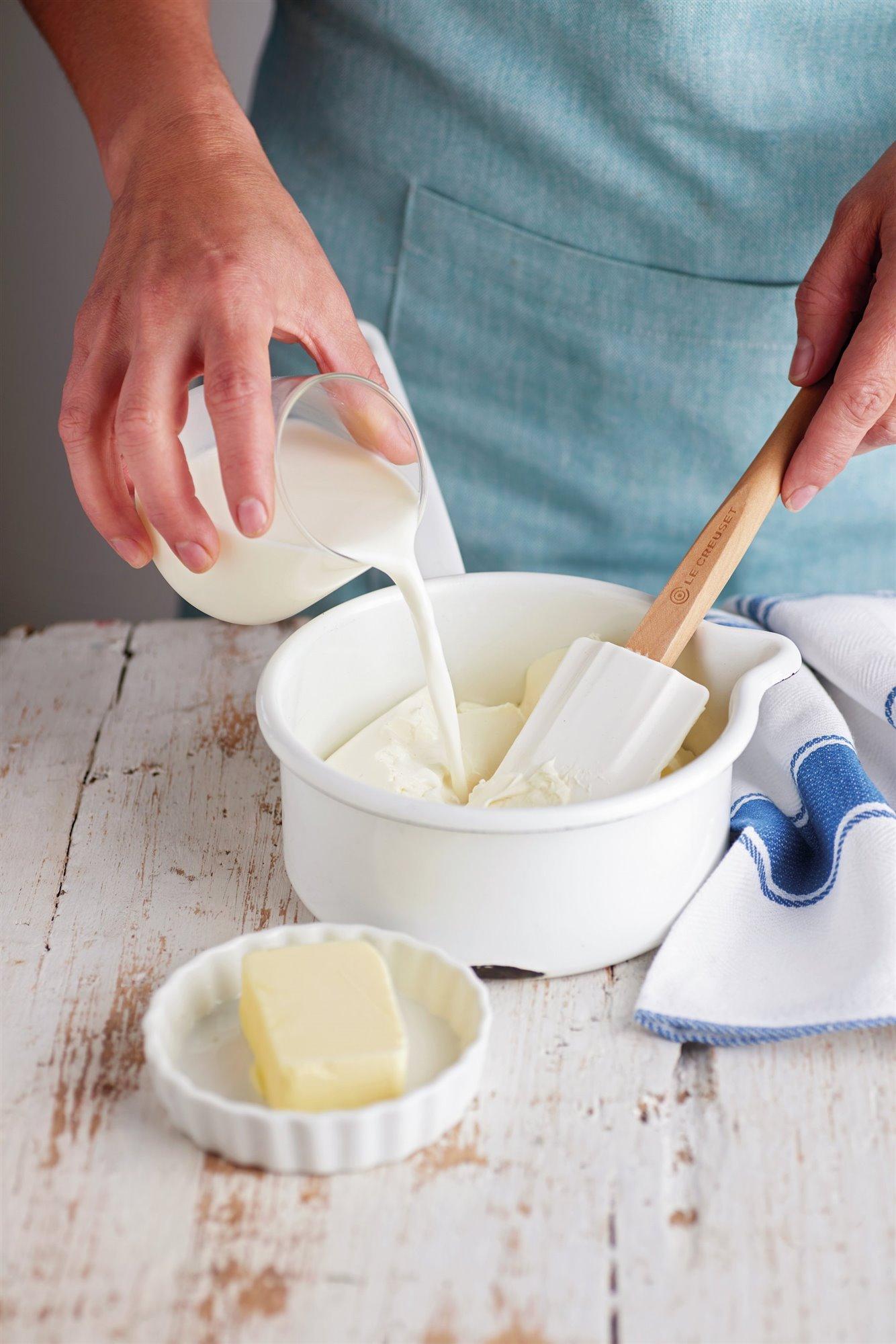 1. Calienta la leche