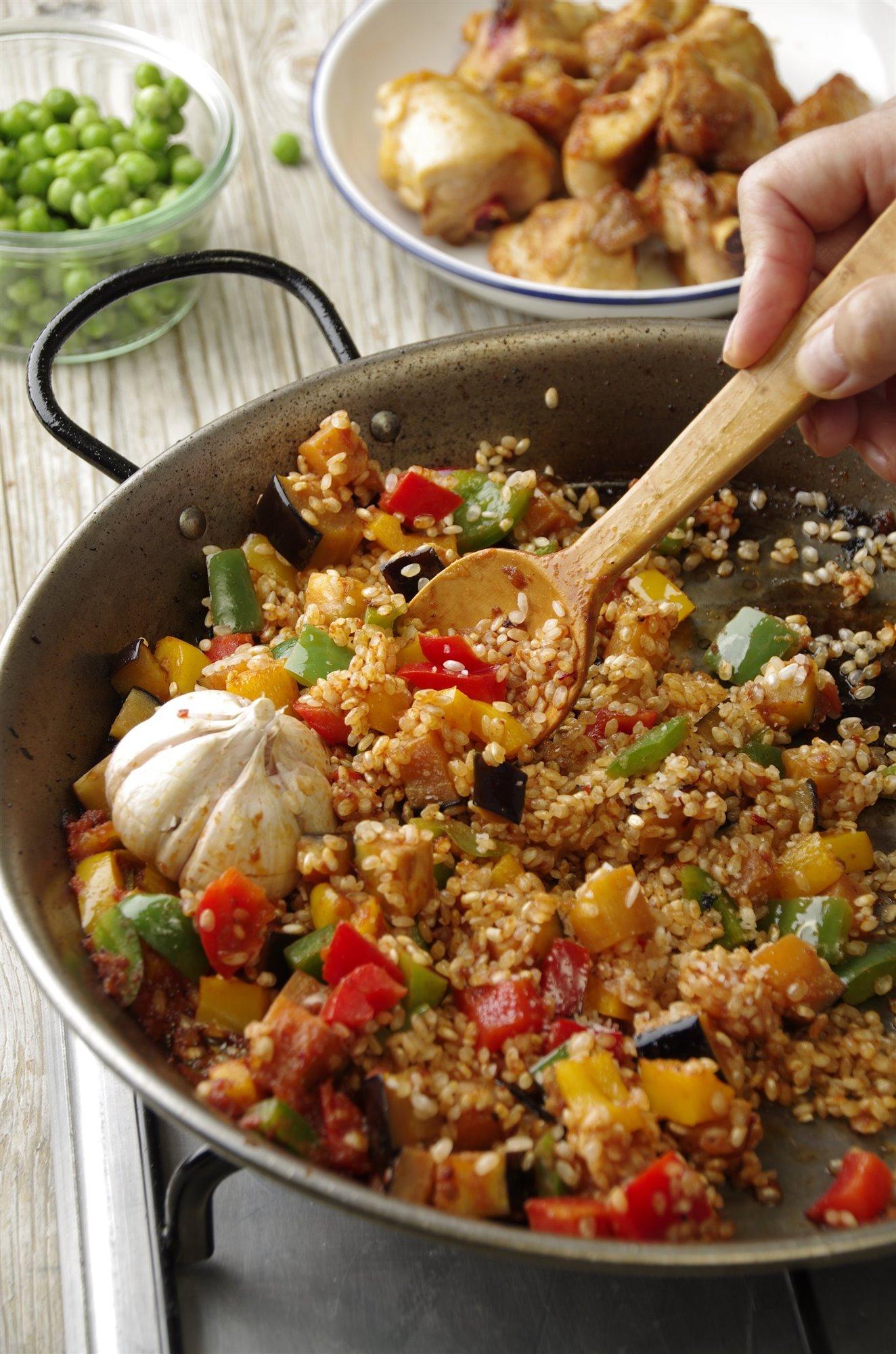 6. Cuece los ingredientes