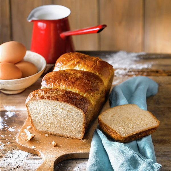 Pan de leche al estilo japonés