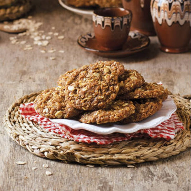 Anzacs, galletas de avena de Australia