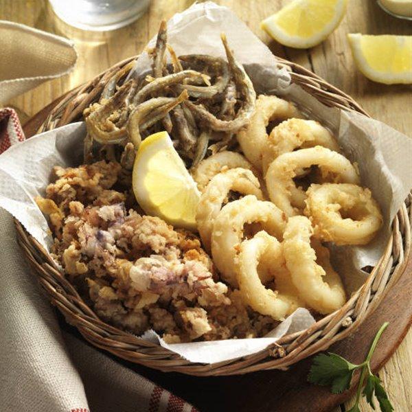 Fritura de pescado tradicional