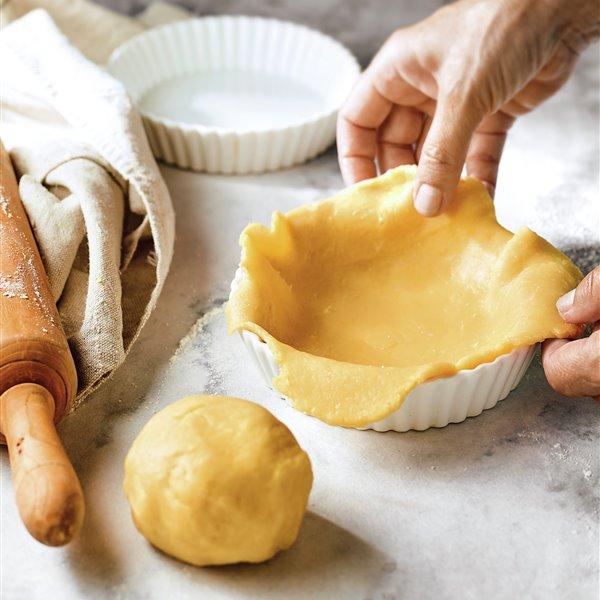 Pasta quebrada o pasta brisa casera