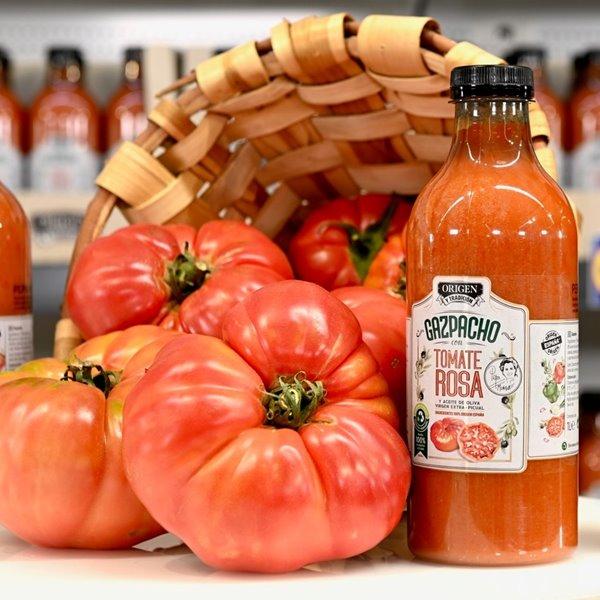 Lidl estrena su nueva marca de productos españoles con un gazpacho de tomate rosa