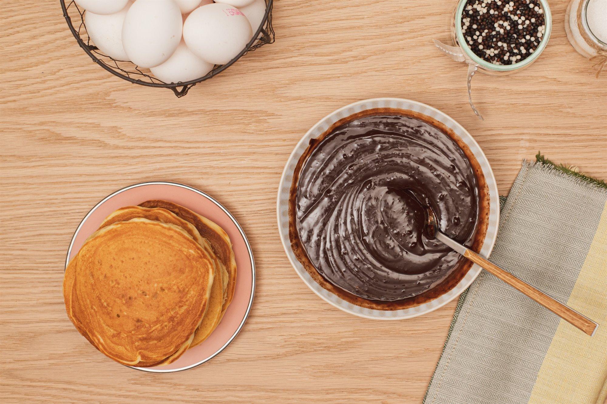 11. Remueve el chocolate