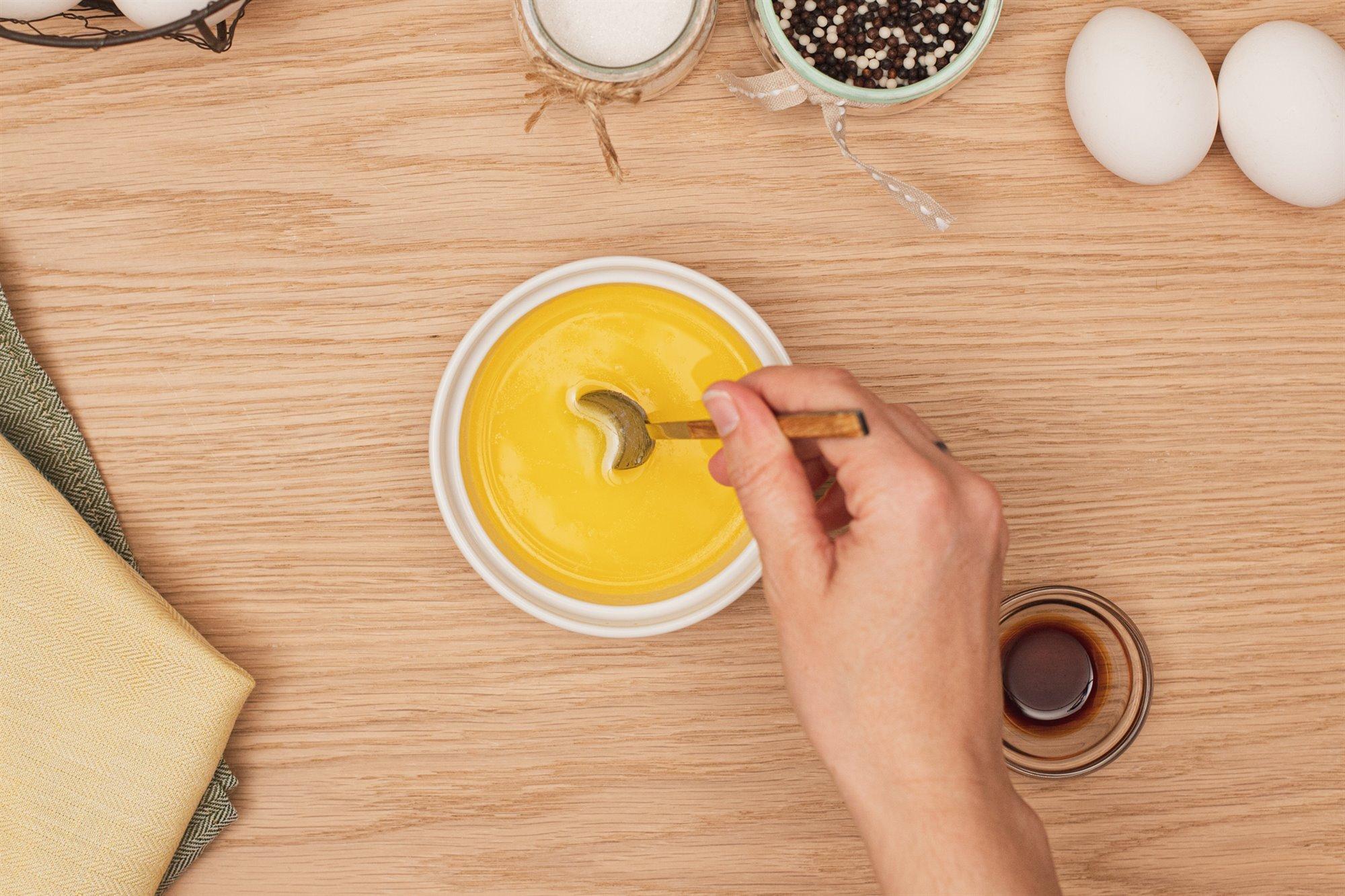2. Derrite mantequilla