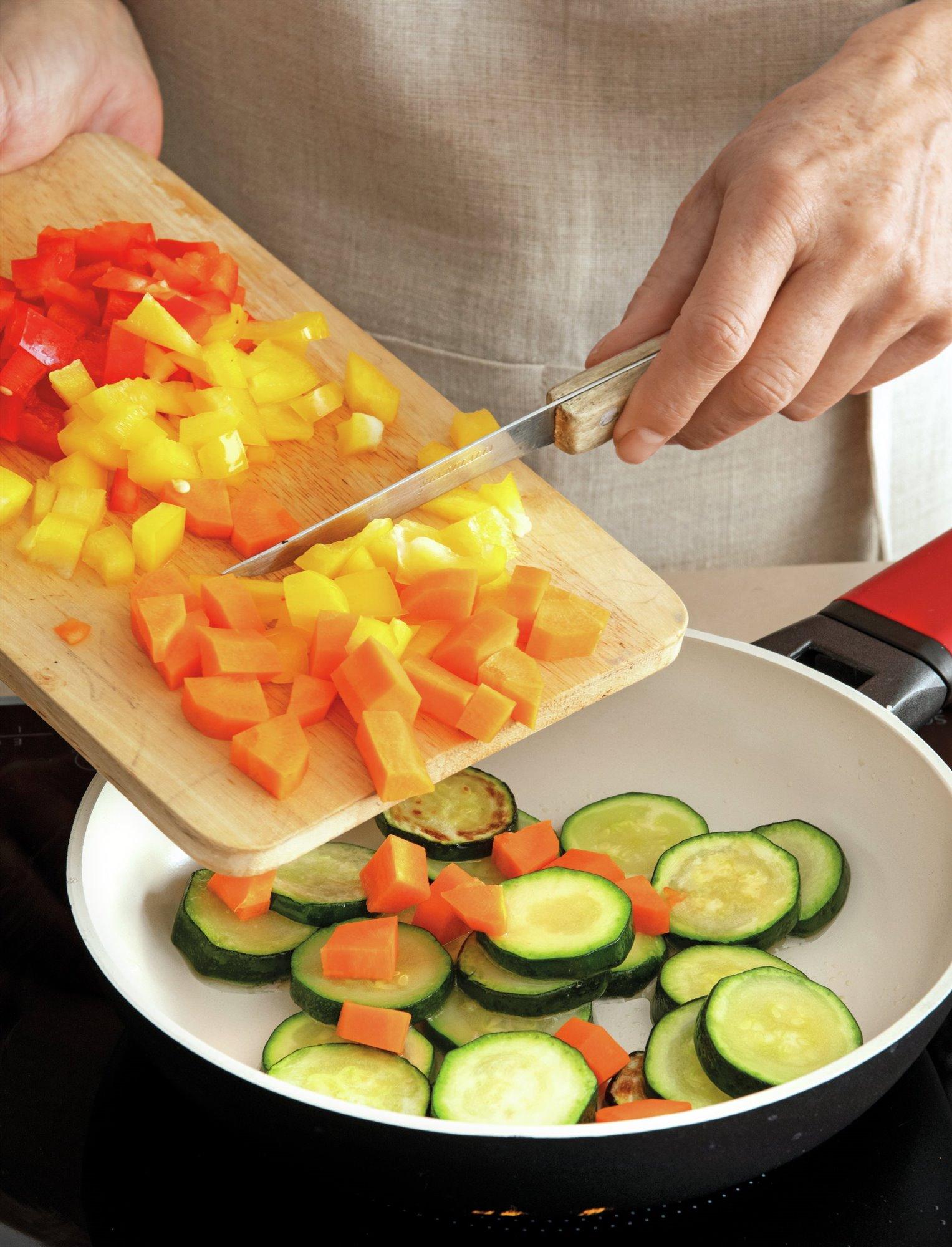 1. Prepara las verduras