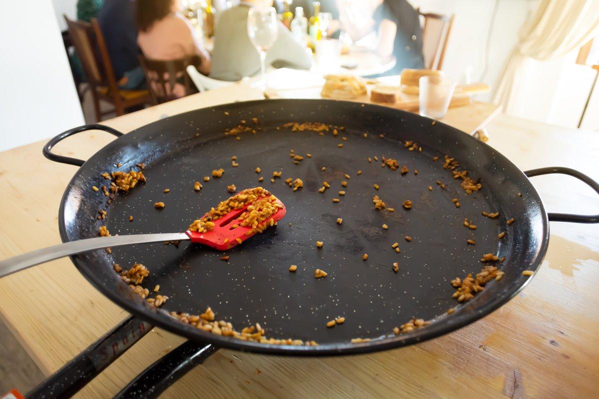 Paella terminada