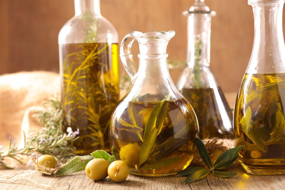 Aceite con hierbas