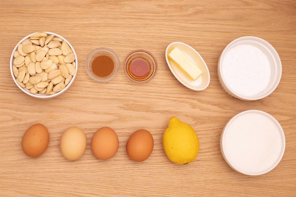 tarta de Santiago Ingredientes