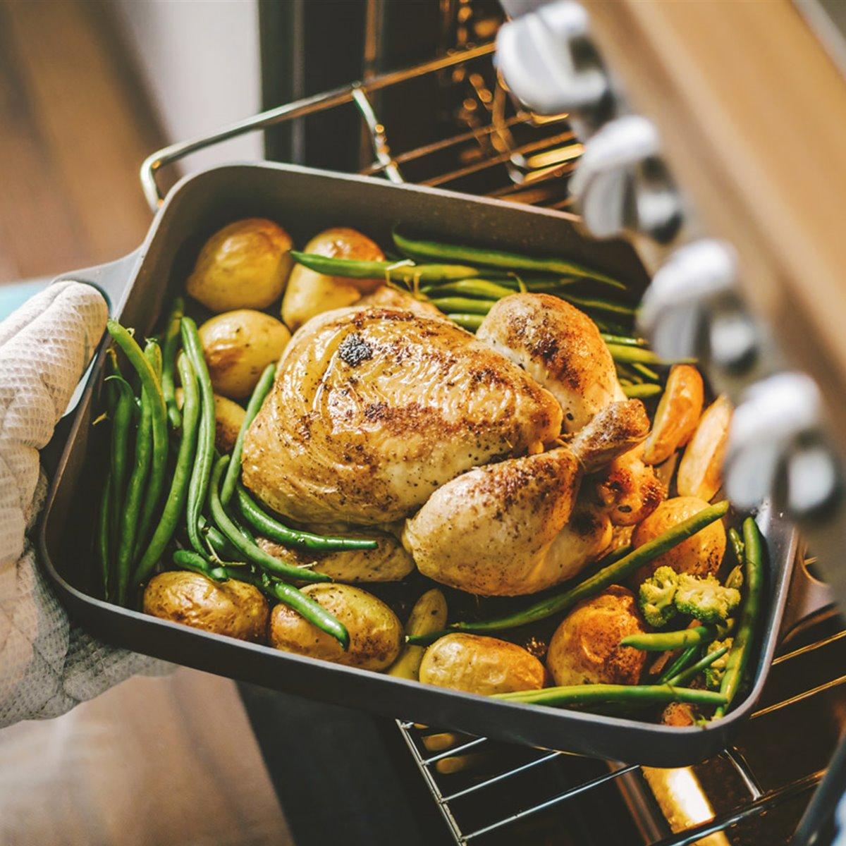 Pollo al horno nuevo