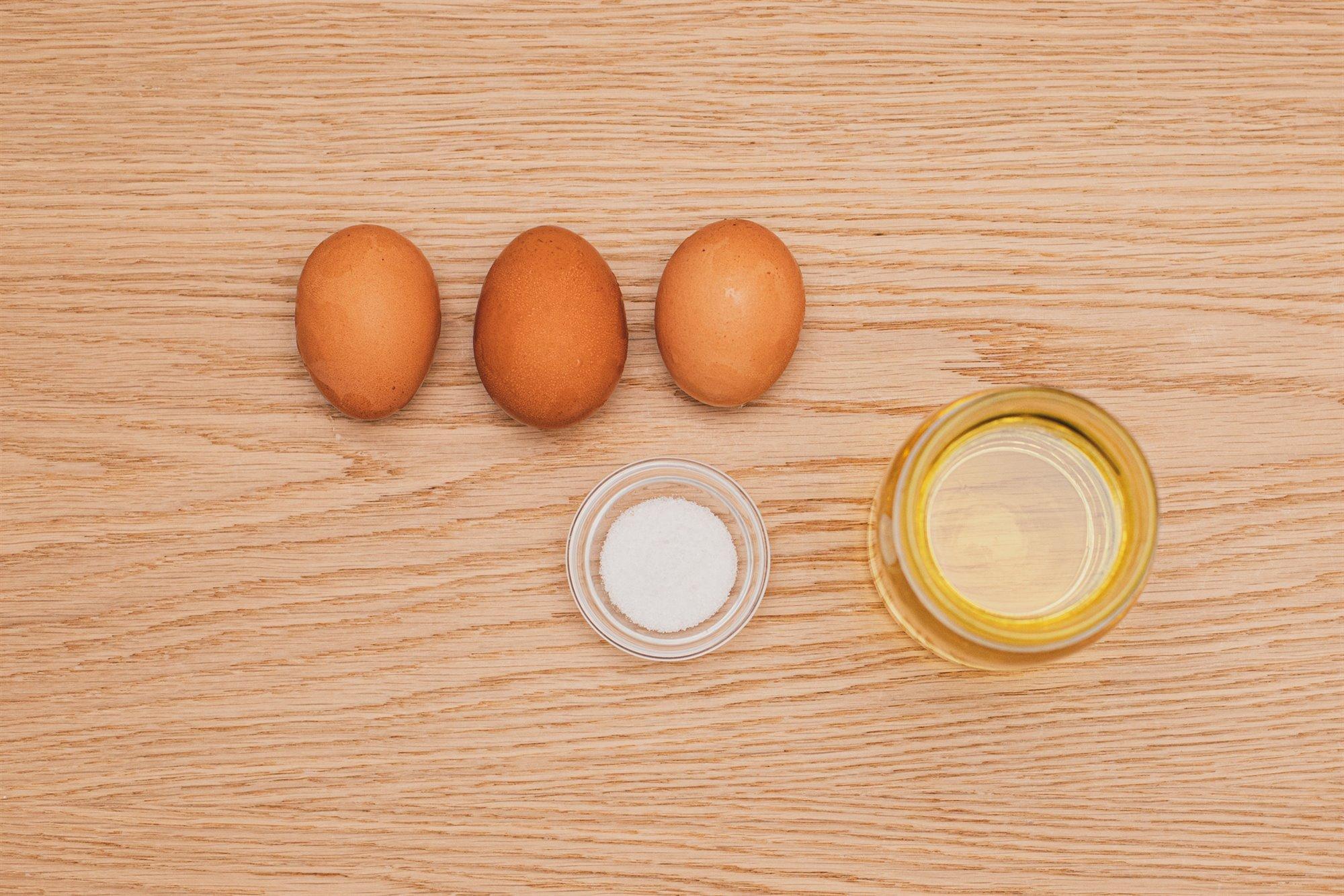 2. Prepara la mayonesa