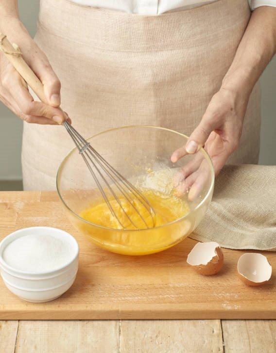 Batir las yemas con el azúcar Lecturas