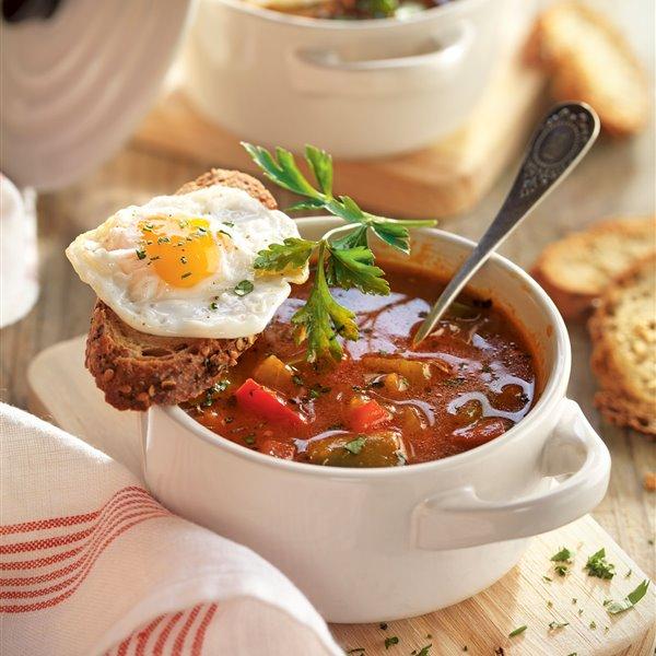 Sopa de tomate extremeña
