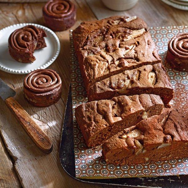 Brownie de doble chocolate y nueces