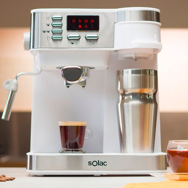 Gana una de las cafeteras espresso Solac multifunción