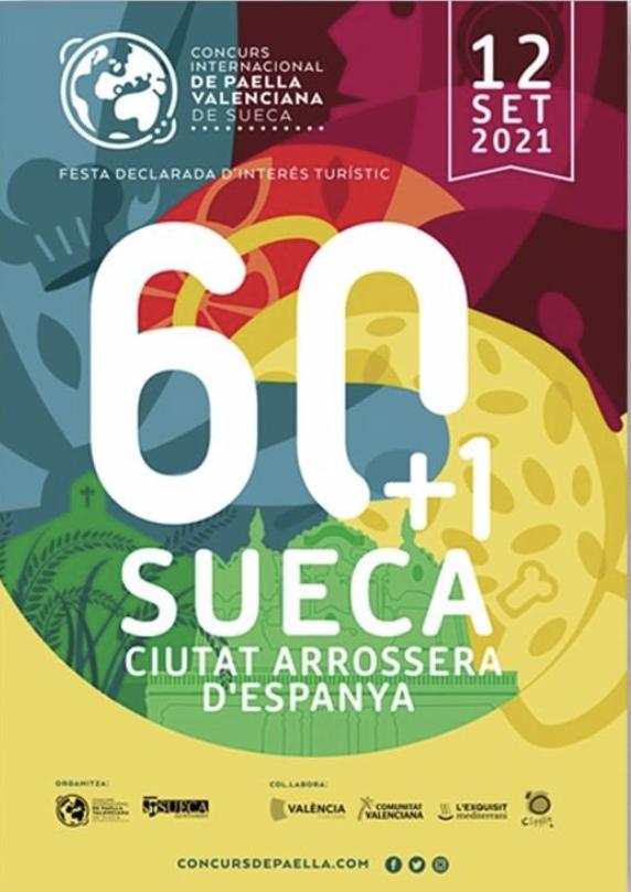 Cartel Concurso Paellas Sueca