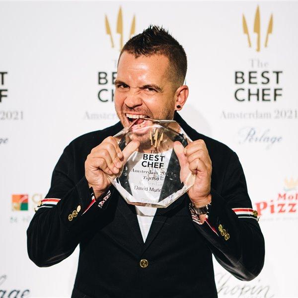 Dabiz Muñoz, mejor cocinero del mundo por The Best Chef Awards