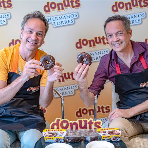 Los hermanos Torres compiten con su versión gourmet de Donuts