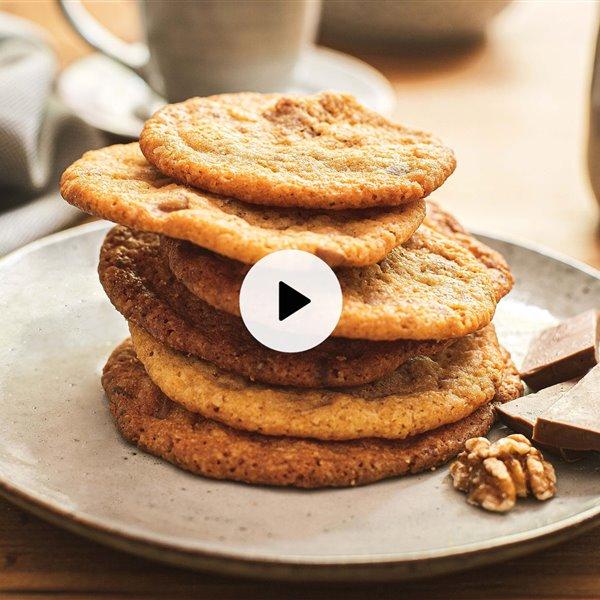 Cookies de chocolate y nueces. La mejor de las recetas (y la más copiada del mundo)