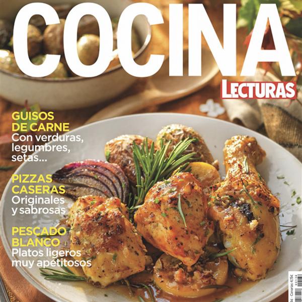 Ya está a la venta en kioscos y Amazon el número de octubre de Lecturas Cocina
